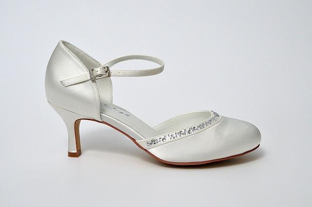 boty pro nevěstu
