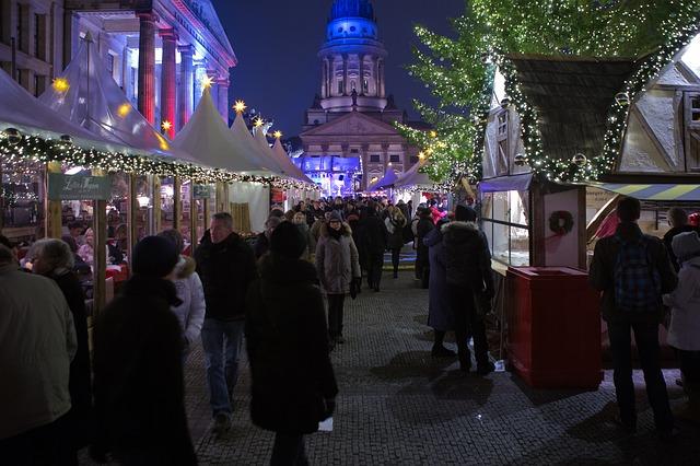 Gendarmenmarkt vánoční trhy